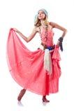 Dancingowi tancerzy tanowie Zdjęcia Royalty Free