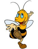 Dancingowy Bumblebee Obrazy Stock