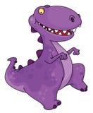 dancingowy dinosaur Obrazy Stock