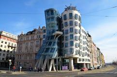 Dancingowy dom, Praga Obrazy Royalty Free