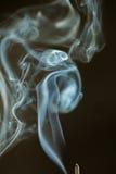 Dancingowy dym Zdjęcia Stock