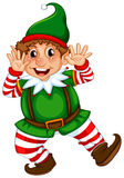 Dancingowy elf Zdjęcie Royalty Free