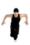 dancingowy mężczyzna Fotografia Royalty Free