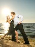 dancingowy pary tango obrazy royalty free