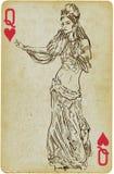 Dancingowy Princess ilustracji