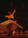 dancingowy religijny whirligig Obrazy Royalty Free