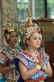 dancingowy tajlandzki tradycyjny Obrazy Stock