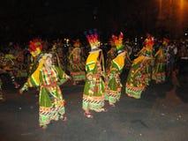 Dancingowy tinku przy tarija ulicami obrazy royalty free