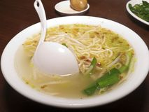 Dandan mian, chinese noodle dish Royalty Free Stock Photos