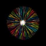 Dandelion ikona Zdjęcie Royalty Free
