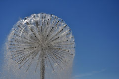 Dandelion-like fountain Stock Images