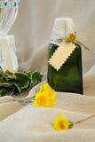 Dandelion oil Stock Photo