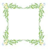 dandelion ramy styl Obraz Royalty Free