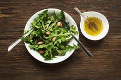 Dandelion salad Royalty Free Stock Images
