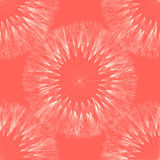 Dandelion seamless pattern Stock Photos