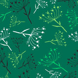 Dandelion seamless pattern Stock Photography