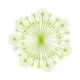 Dandelion seed decoration icon Stock Photography