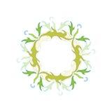 dandelion styl Zdjęcie Stock