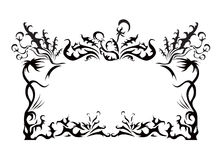 dandelion styl Obraz Royalty Free