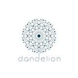 Dandelion symbol Obrazy Royalty Free