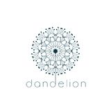 Dandelion symbol Royalty Free Stock Images