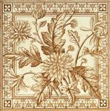 Dandelion tile Royalty Free Stock Photography