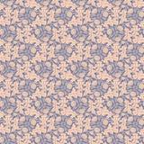 Dandelion violet seamless background vector Stock Photos