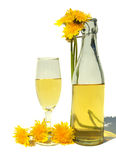 Dandelion wine Royalty Free Stock Photo