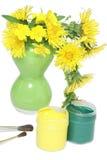 dandelions farby Obraz Royalty Free