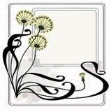 dandelions rocznik Obraz Stock