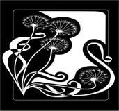 dandelions rocznik Obraz Royalty Free