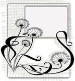 dandelions rocznik Zdjęcia Stock
