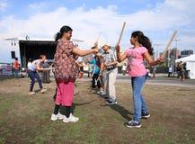 Dandiya at Festival Royalty Free Stock Image