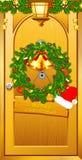 Dando boas-vindas ao Natal Imagem de Stock Royalty Free