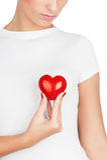 Dando o conceito do amor Imagens de Stock Royalty Free