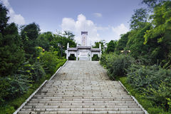 Dandong City, Liaoning Province, the Korean War Monument Royalty Free Stock Photography