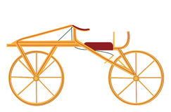 Dandy-лошадь или Draisienne созданные в 1816 немецким бароном Карл бесплатная иллюстрация