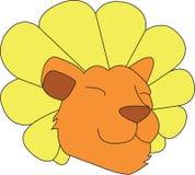 Dandy Lion Head Royalty Free Stock Image