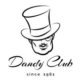 Dandy Logo Royalty Free Stock Photos