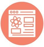 Dane analiza, dane analityka Odizolowywał Wektorową ikonę która może łatwo redagować lub modyfikować ilustracja wektor