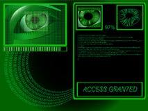dane biometryczne Zdjęcia Stock