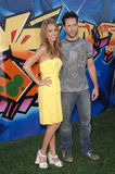 Dane Cook, Jessica Alba Royalty Free Stock Image