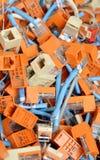 Dane dźwigarki Fotografia Stock
