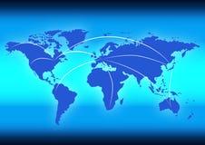 dane globalni ilustracja wektor