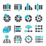 Dane, kategorii zarządzania ikona ilustracja wektor