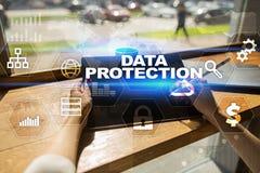 Dane ochrona, Cyber ochrona, ewidencyjny bezpieczeństwo i utajnianie, Obrazy Royalty Free