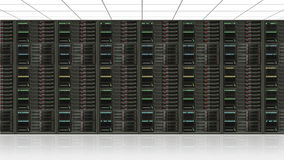 Dane serweru centrum Obrazy Stock