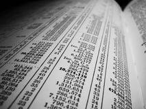 dane statystyczne Obrazy Stock