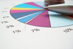 dane statystyczne Obraz Stock