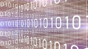 Dane technologii cyfrowej liczb trawersowanie 4K royalty ilustracja